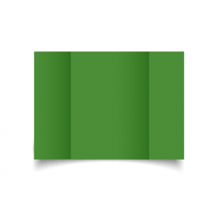 A5 Gatefold Apple Green Card Blanks