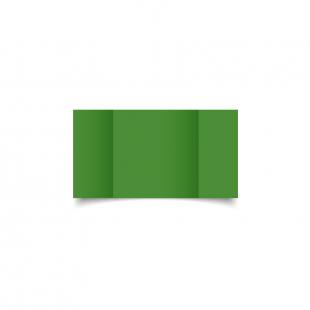 Small Square Gatefold Apple Green Card Blanks