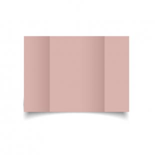 A5 Gatefold Baby Pink Card Blanks