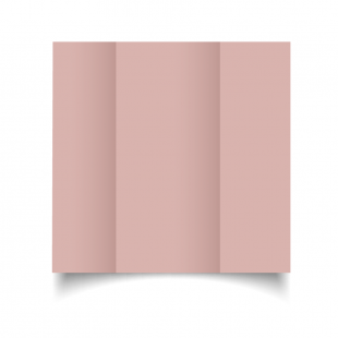 DL Gatefold Baby Pink Card Blanks
