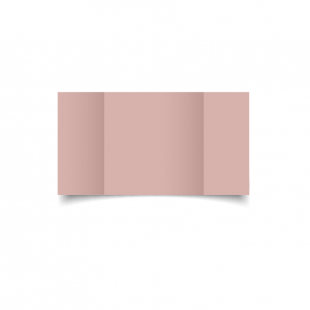 Large Square Gatefold Baby Pink Card Blanks