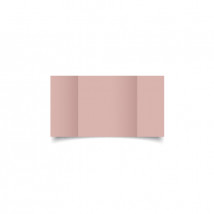 Small Square Gatefold Baby Pink Card Blanks
