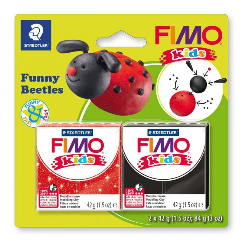 Beetles Fimo