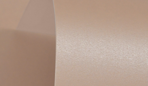 Bisque Brown Double Sided Pearlised Card 300gsm