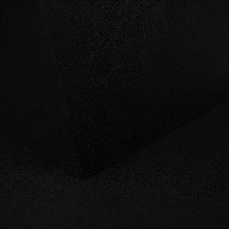Black Bowston Plain Card 290gsm