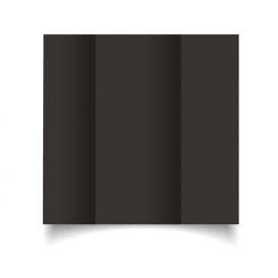 DL Gatefold Black Card Blanks