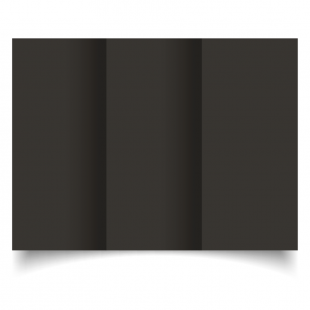 DL Trifold Black Card Blanks