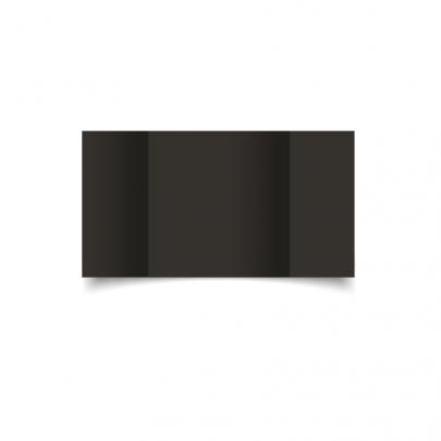 Black Large Square Gate Fold Card Blank 01