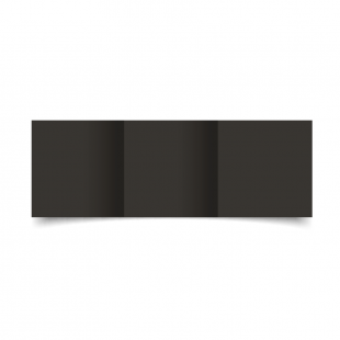 Small Square Trifold Black Card Blanks