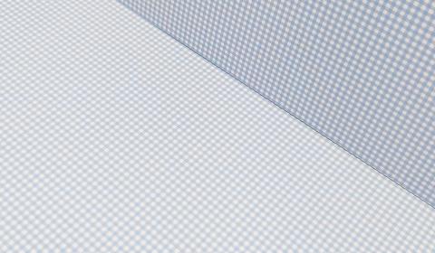 Pastel Blue Gingham Card 300gsm
