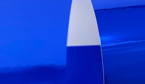 Blue Mirror Card 270gsm