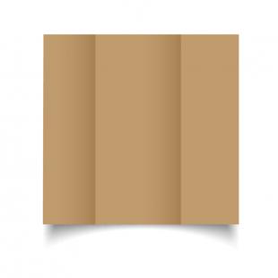 DL Gatefold Buff Card Blanks