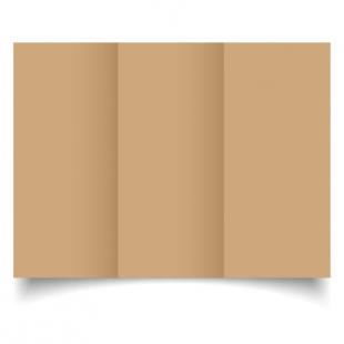 DL Trifold Buff Card Blanks