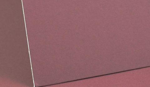 Burgundy Mount Board 1250 micron
