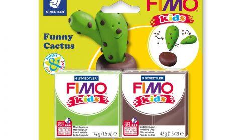 FIMO Kids Set Funny Cactus