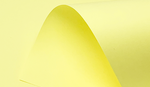 Pastel Canary Plain Paper 80gsm