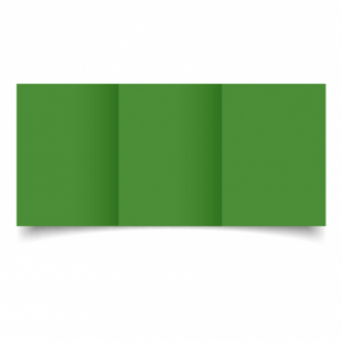 Apple Green Card Blanks Double Sided 240gsm-A6-Trifold