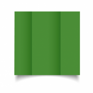 Apple Green Card Blanks Double Sided 240gsm-DL-Gatefold