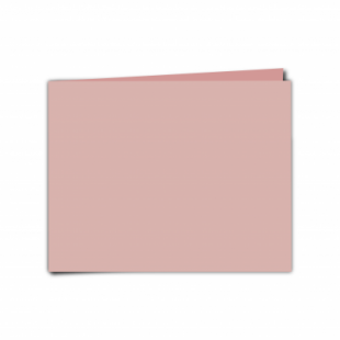 """Baby Pink Card Blanks Double Sided 240gsm-5""""x7""""-Landscape"""