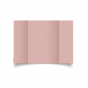 Baby Pink Card Blanks Double Sided 240gsm-A5-Gatefold