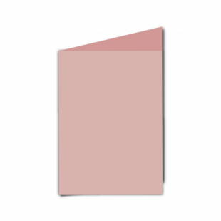 Baby Pink Card Blanks Double Sided 240gsm-A6-Portrait