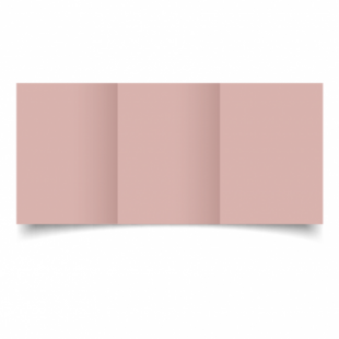 Baby Pink Card Blanks Double Sided 240gsm-A6-Trifold