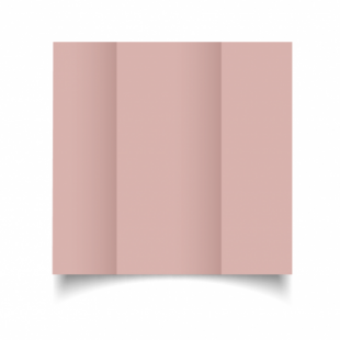 Baby Pink Card Blanks Double Sided 240gsm-DL-Gatefold