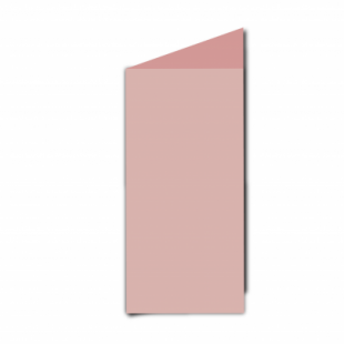 Baby Pink Card Blanks Double Sided 240gsm-DL-Portrait