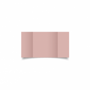 Baby Pink Card Blanks Double Sided 240gsm-Small Square-Gatefold