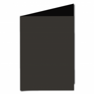 Black Card Blanks Double Sided 240gsm-A5-Portrait