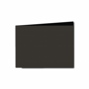 Black Card Blanks Double Sided 240gsm-A6-Landscape