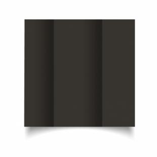 Black Card Blanks Double Sided 240gsm-DL-Gatefold