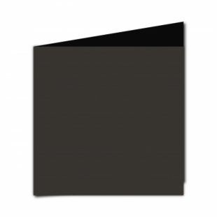 Black Card Blanks Double Sided 240gsm-Large Square-Portrait
