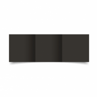 Black Card Blanks Double Sided 240gsm-Small Square-Trifold