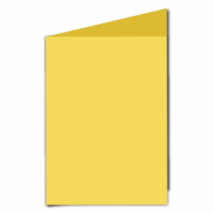 Daffodil Yellow Card Blanks Double Sided 240gsm-A5-Portrait