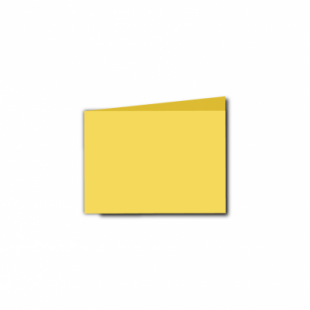 Daffodil Yellow Card Blanks Double Sided 240gsm-A7-Landscape