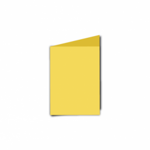Daffodil Yellow Card Blanks Double Sided 240gsm-A7-Portrait