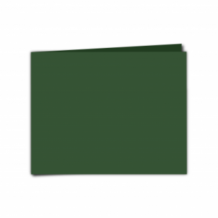 """Dark Green Card Blanks Double Sided 240gsm-5""""x7""""-Landscape"""