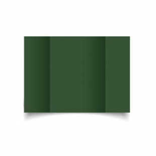 Dark Green Card Blanks Double Sided 240gsm-A5-Gatefold