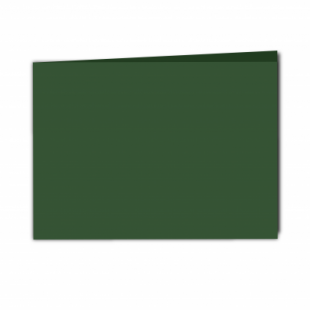 Dark Green Card Blanks Double Sided 240gsm-A5-Landscape