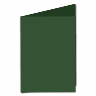 Dark Green Card Blanks Double Sided 240gsm-A5-Portrait