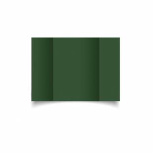 Dark Green Card Blanks Double Sided 240gsm-A6-Gatefold