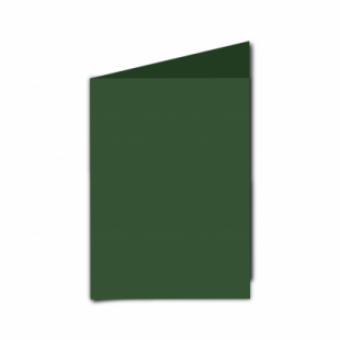 Dark Green Card Blanks Double Sided 240gsm-A6-Portrait