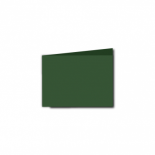 Dark Green Card Blanks Double Sided 240gsm-A7-Landscape