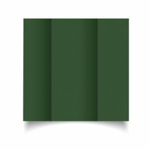 Dark Green Card Blanks Double Sided 240gsm-DL-Gatefold