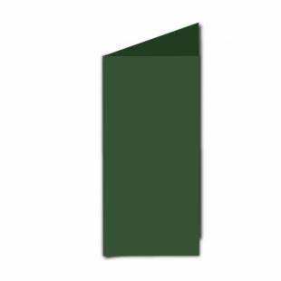 Dark Green Card Blanks Double Sided 240gsm-DL-Portrait