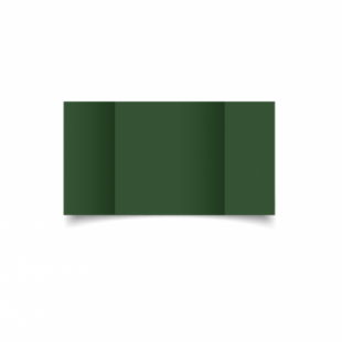 Dark Green Card Blanks Double Sided 240gsm-Large Square-Gatefold