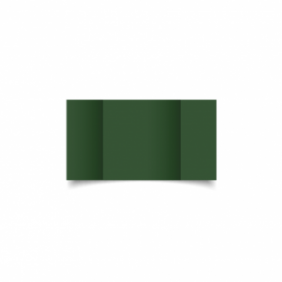 Dark Green Card Blanks Double Sided 240gsm-Small Square-Gatefold