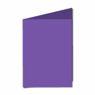 "Dark Violet Card Blanks Double Sided 240gsm-5""x7""-Portrait"