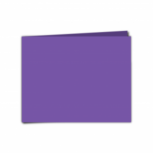 """Dark Violet Card Blanks Double Sided 240gsm-5""""x7""""-Landscape"""